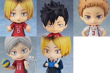 picture: product images of nekoma high school nendoroid figures